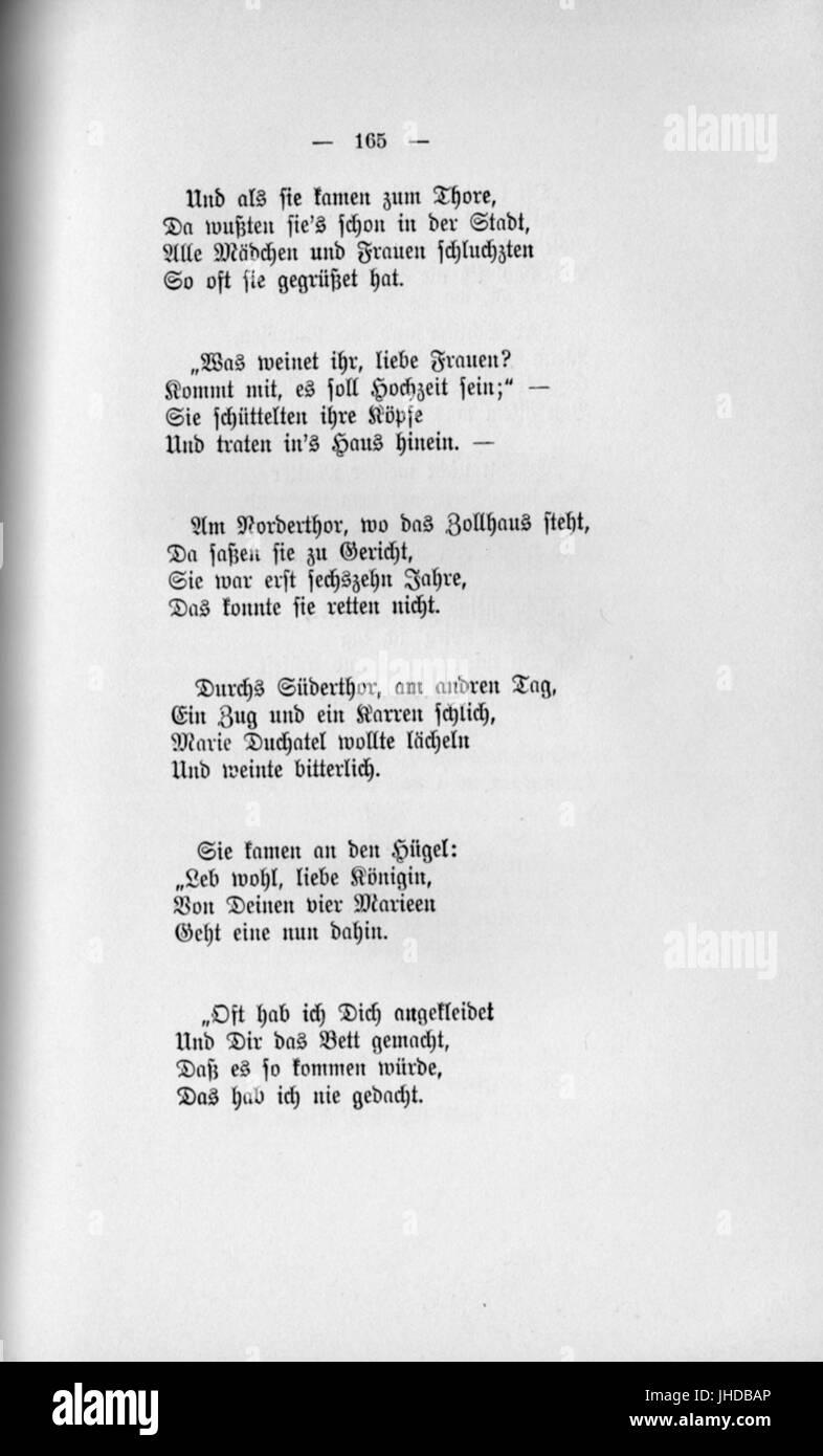 Fontane gedicht zug