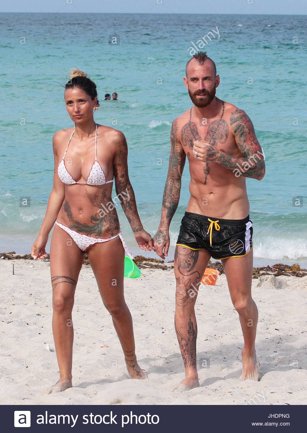 Raul Meireles and Ivone Viana. Former Liverpool and ...