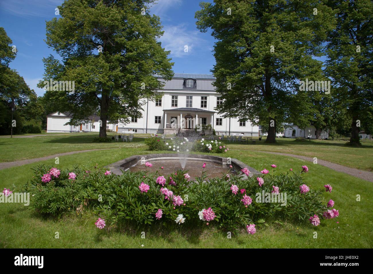 STJÄRNSUND Dalarna Sweden Stock Photo