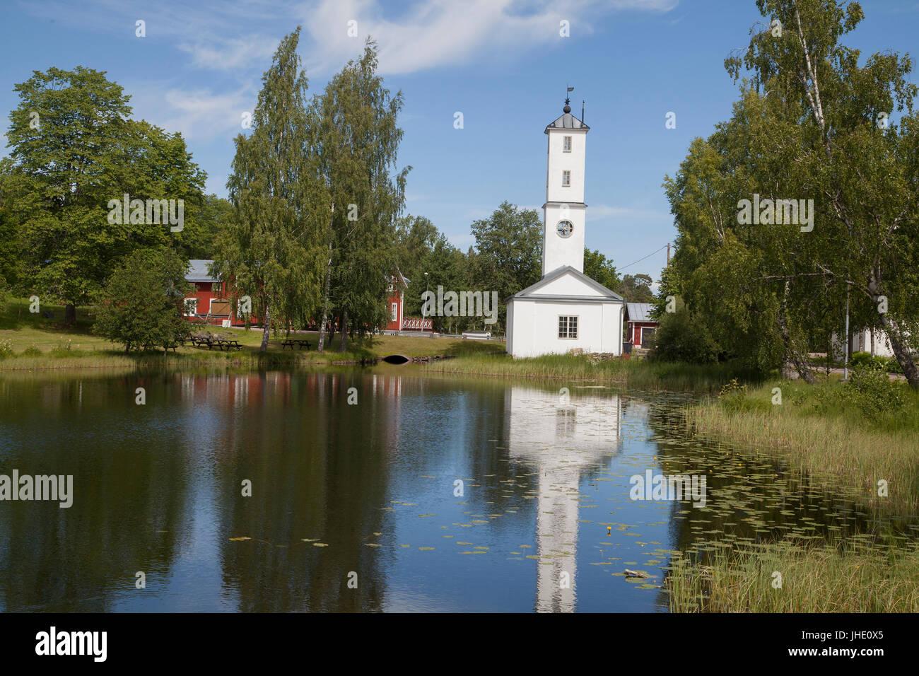 STJÄRNSUND Dalarna Sweden - Stock Image
