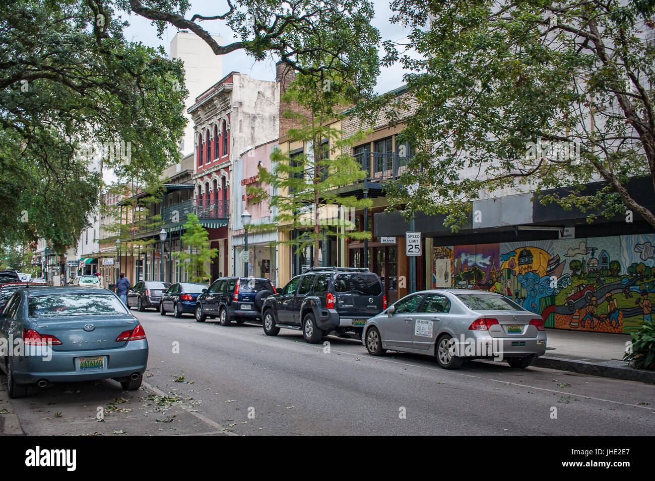 July 2017 Mobile Al Restaurants And Shops In Downtown