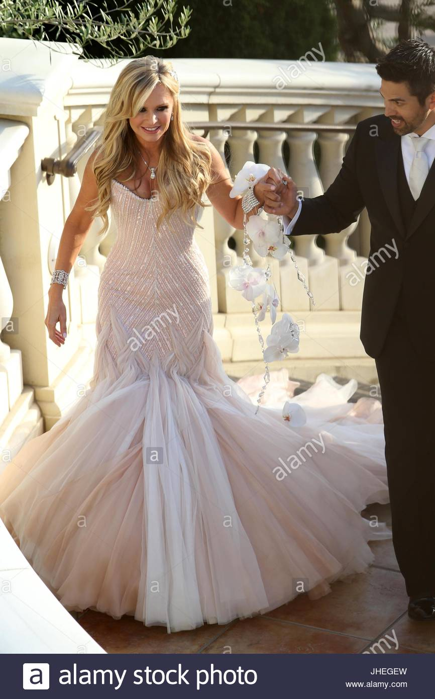 Tamra Barney and Eddie Judge. Real Housewives of Orange County star ...