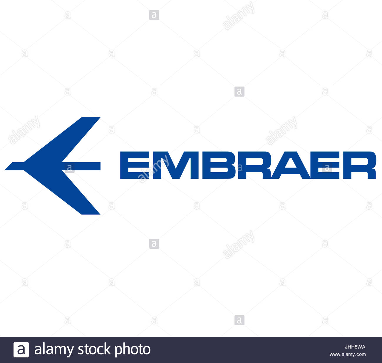 Embraer logo icon - Stock Image