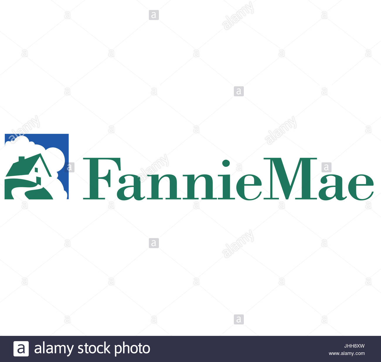 Fannie Mae logo icon - Stock Image