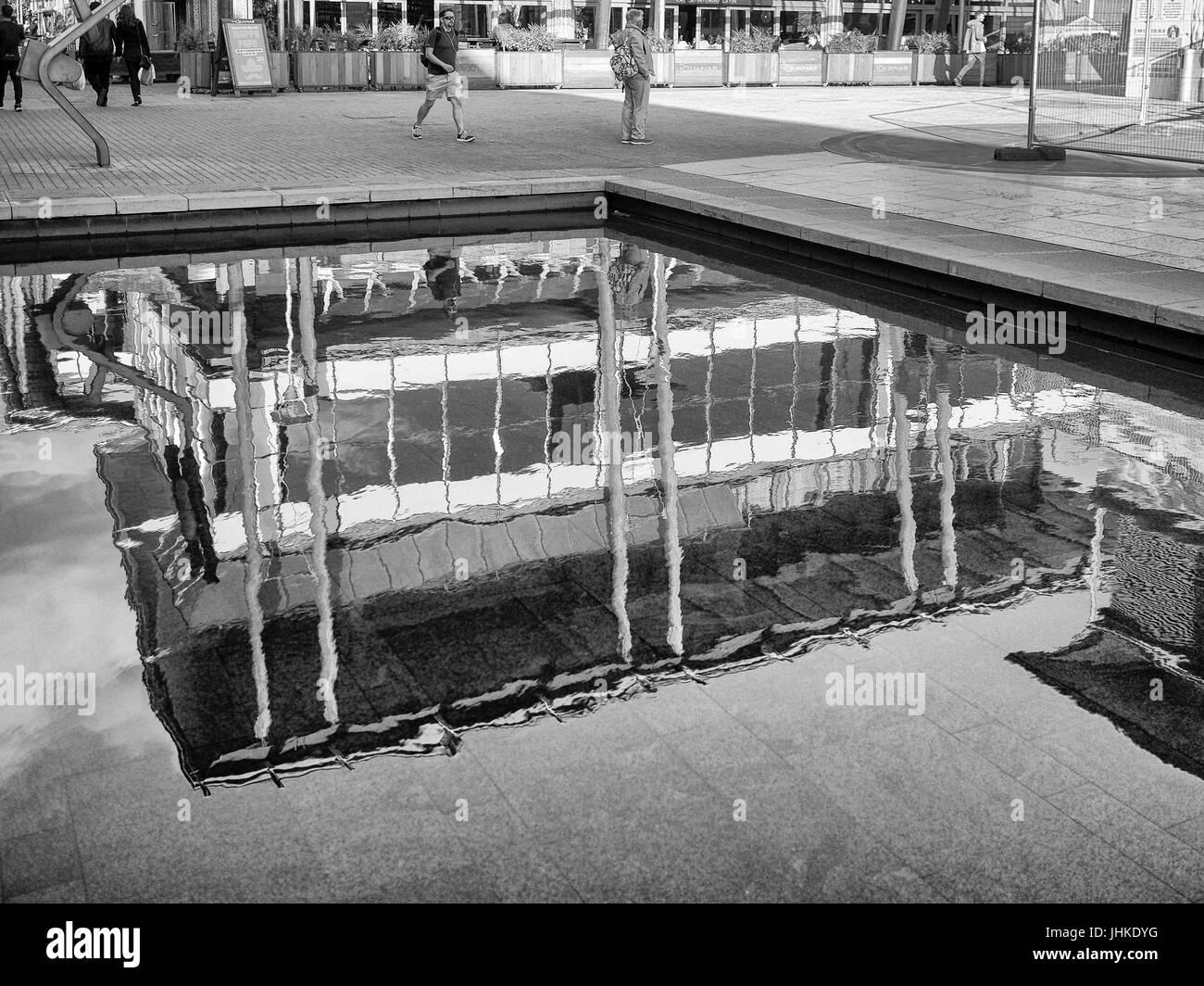 Street Photography Waterfront Bristol - Stock Image
