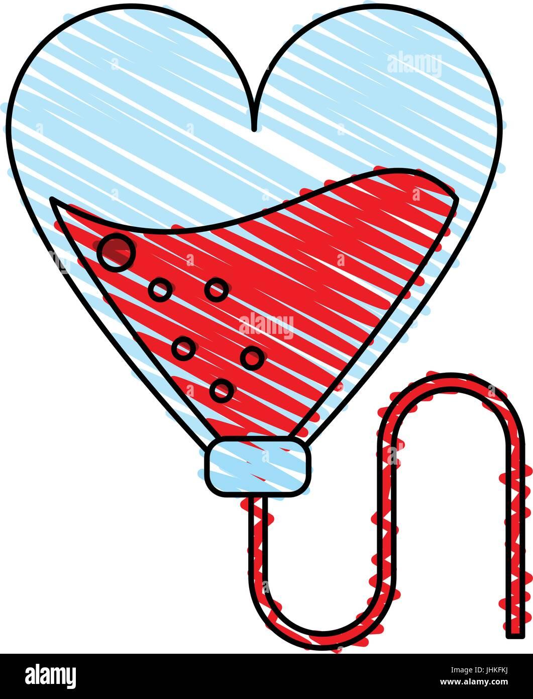 Blood unit vector illustration - Stock Vector