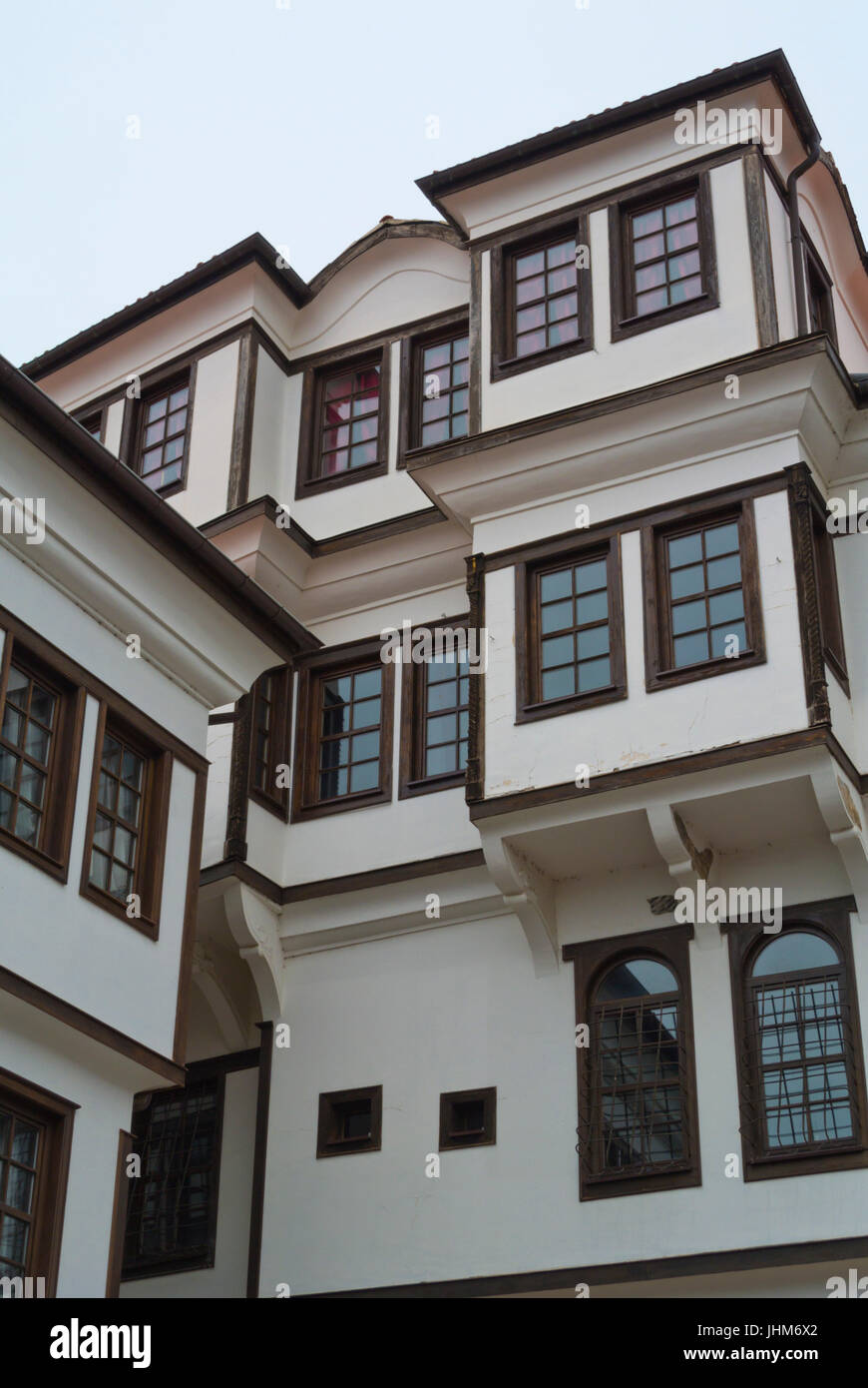 National Museum, old town, Ohrid, Macedonia - Stock Image