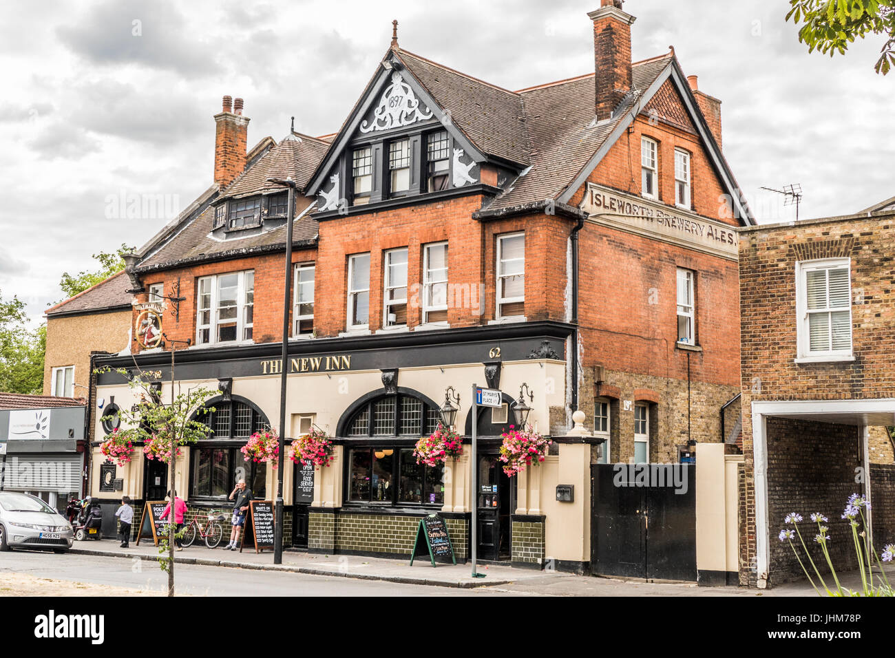 Exterior of The New Inn pub in Ealing, London W5, England, UK. - Stock Image