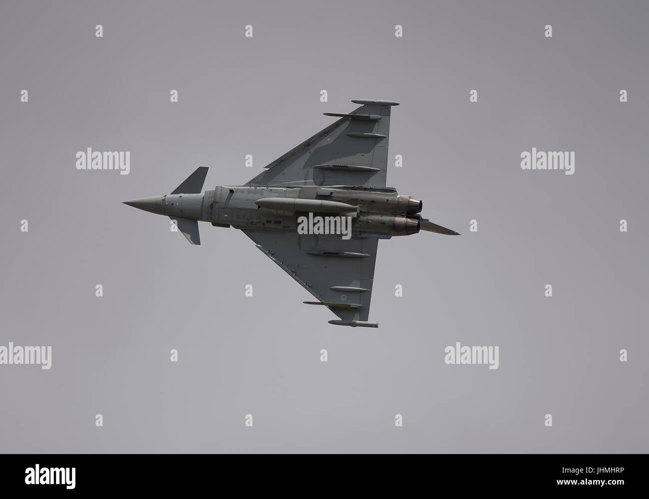 RAF Fairford, Gloucestershire, UK. 14th July 2017. First day of the Royal International Air Tattoo (RIAT), one of Stock Photo