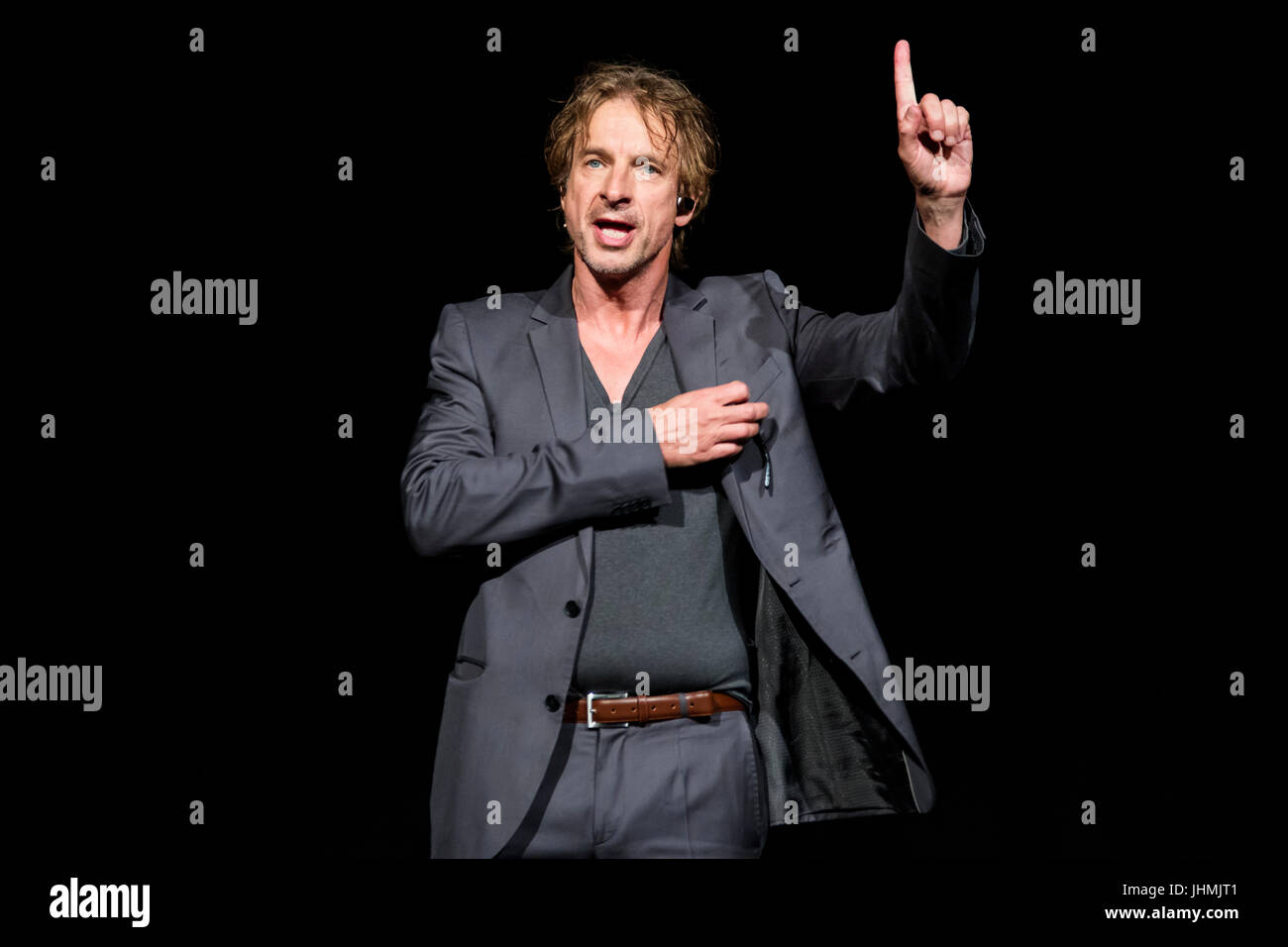 Wetzlar, Germany. 14th July, 2017. Ingolf Lück, German actor, presenter and comedian in his role as tabloid - Stock Image