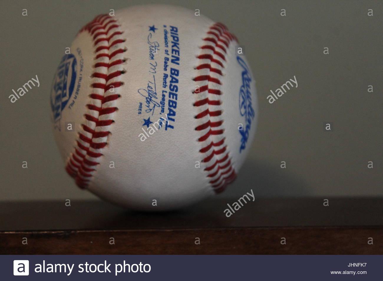 Ripken Youth Baseball - Stock Image