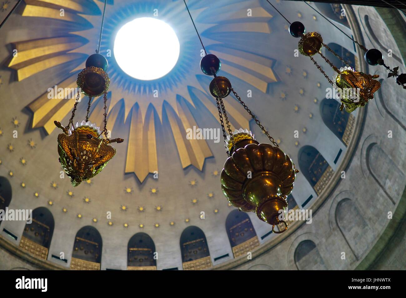 The Church of the Holy Tomb, Jerusalem - Stock Image
