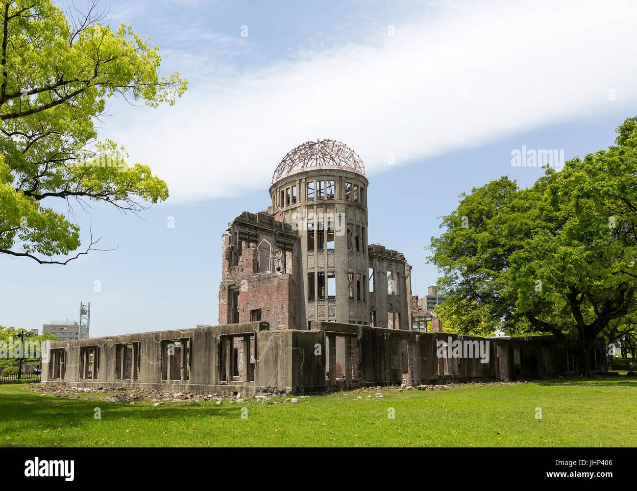 Hiroshima Peace Memorial in Japan Asia - Stock Image