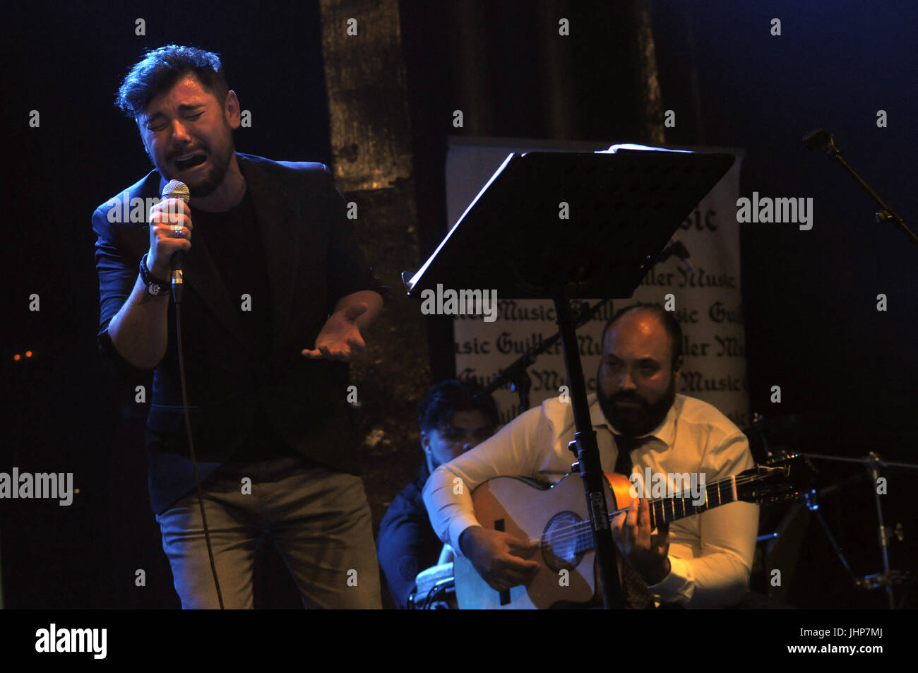 25th november 2016. Barcelona Spain. VI Flamenco and Other Birds Edition. Show ALL PARRITA, with invited artists: - Stock Image