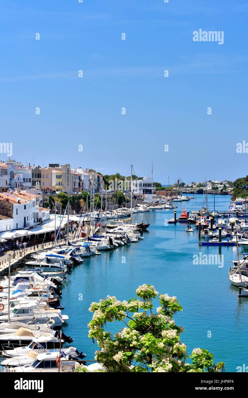 Ciutadella menorca Minorca - Stock Image