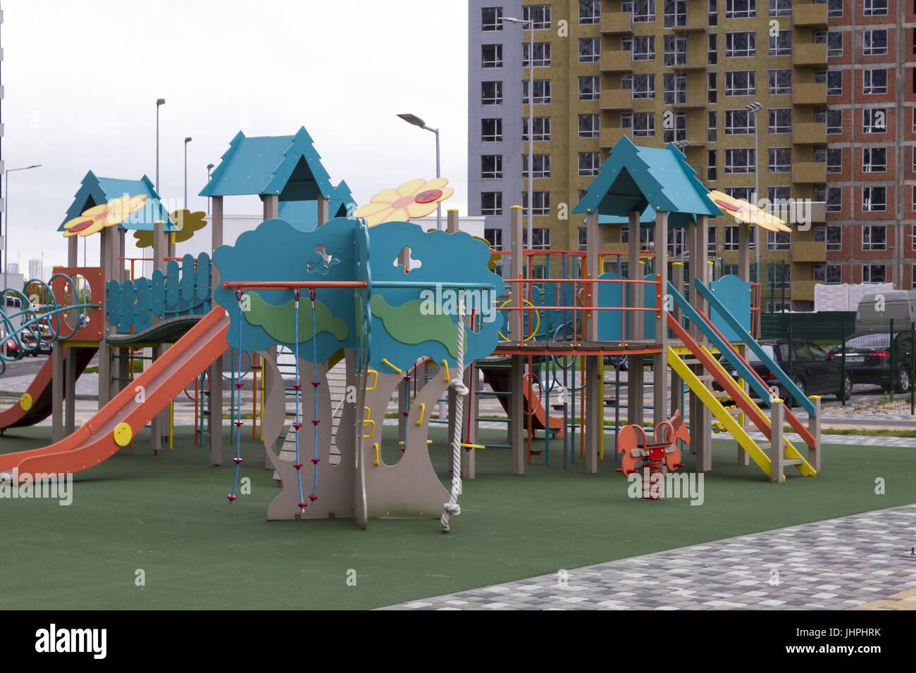 Bbw public park swing