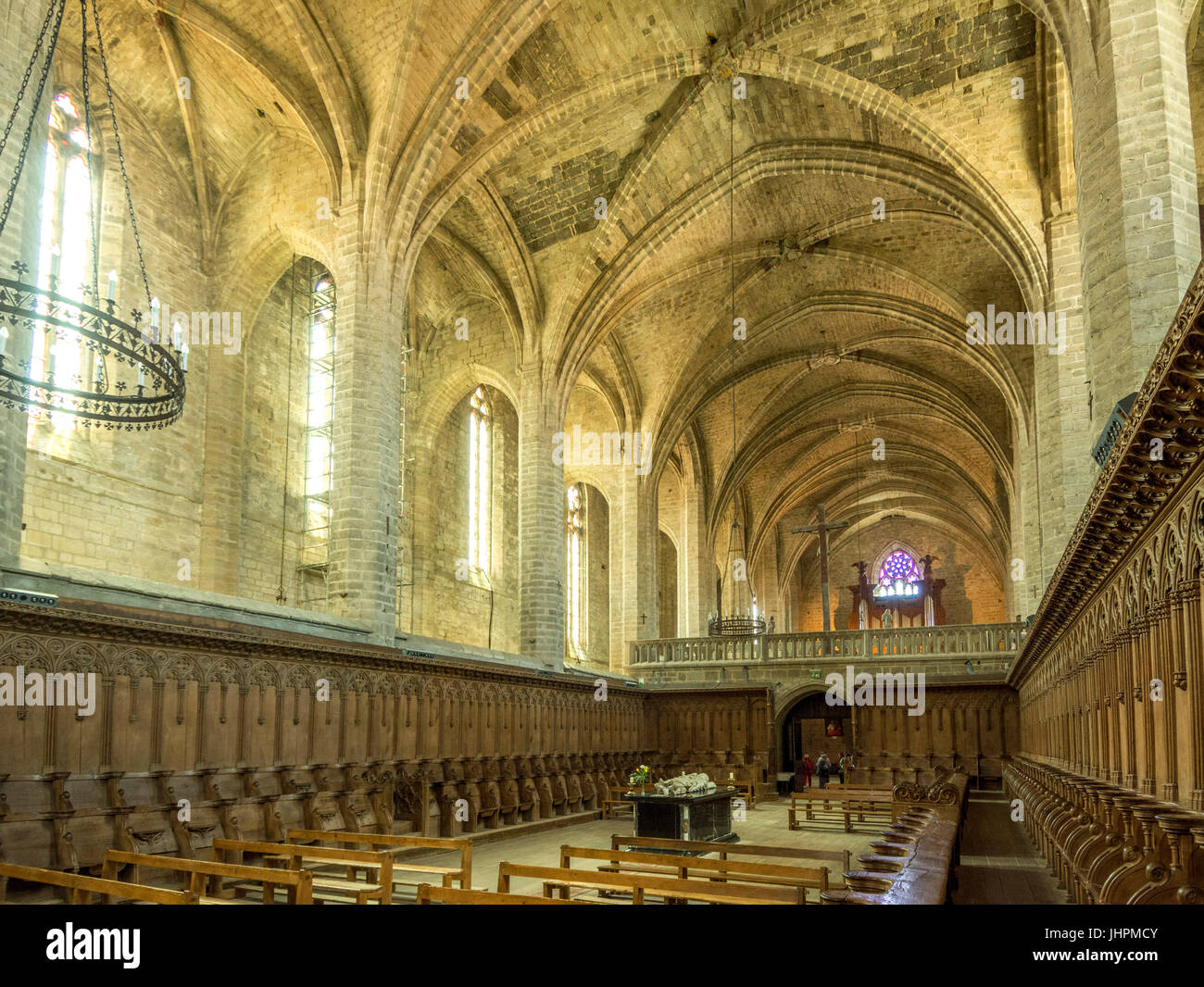 Abbaye Chaise Dieu High Resolution Stock Photography and Images