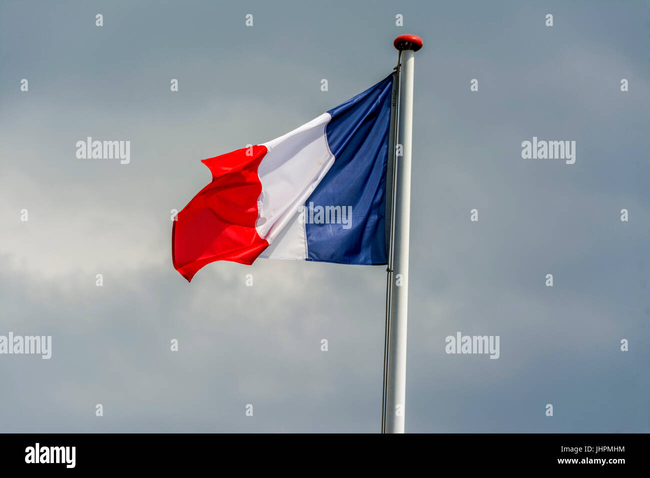 French flag - Stock Image