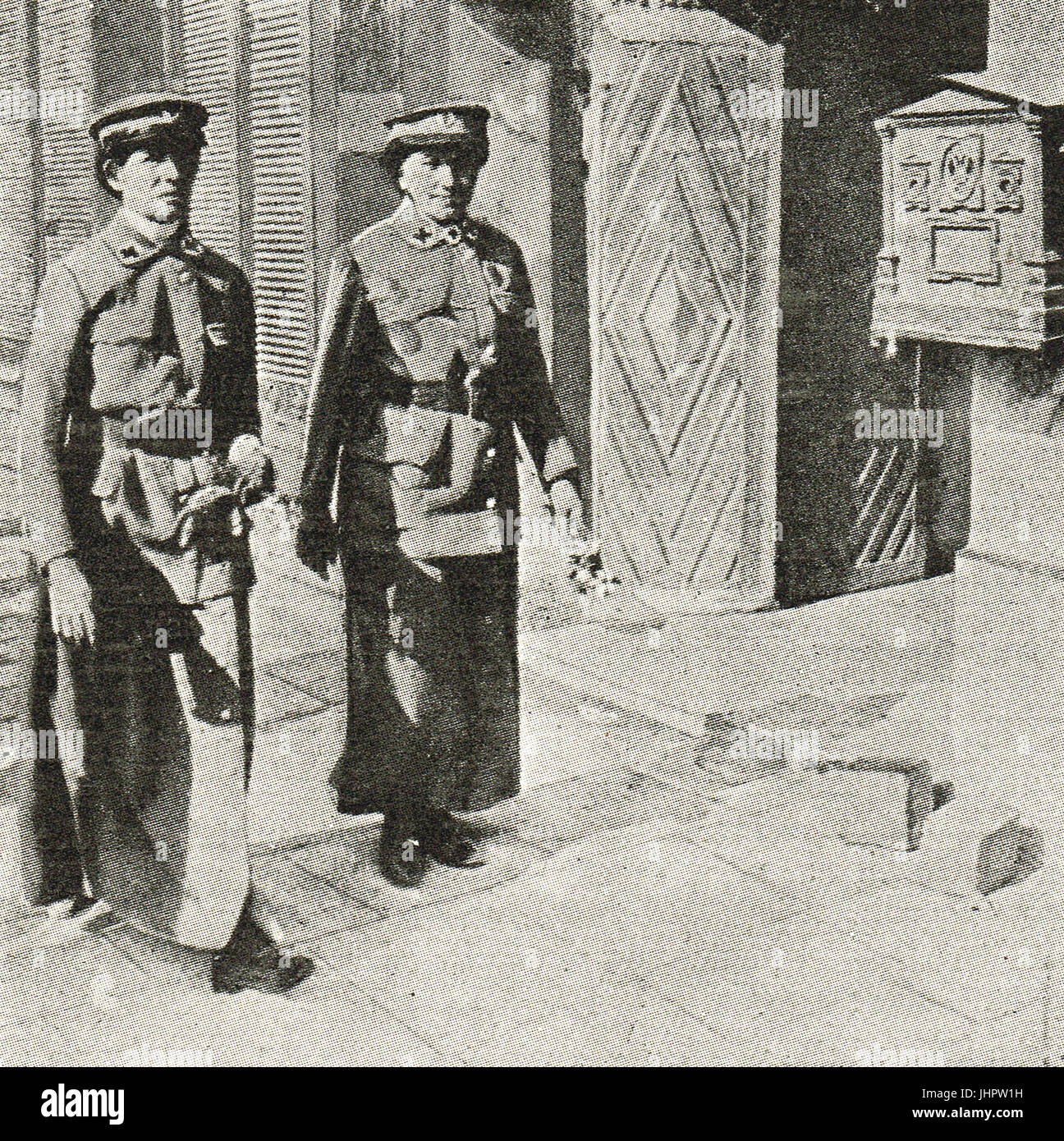 Red Cross Nurses attached to Austrian army, 1914 - Stock Image