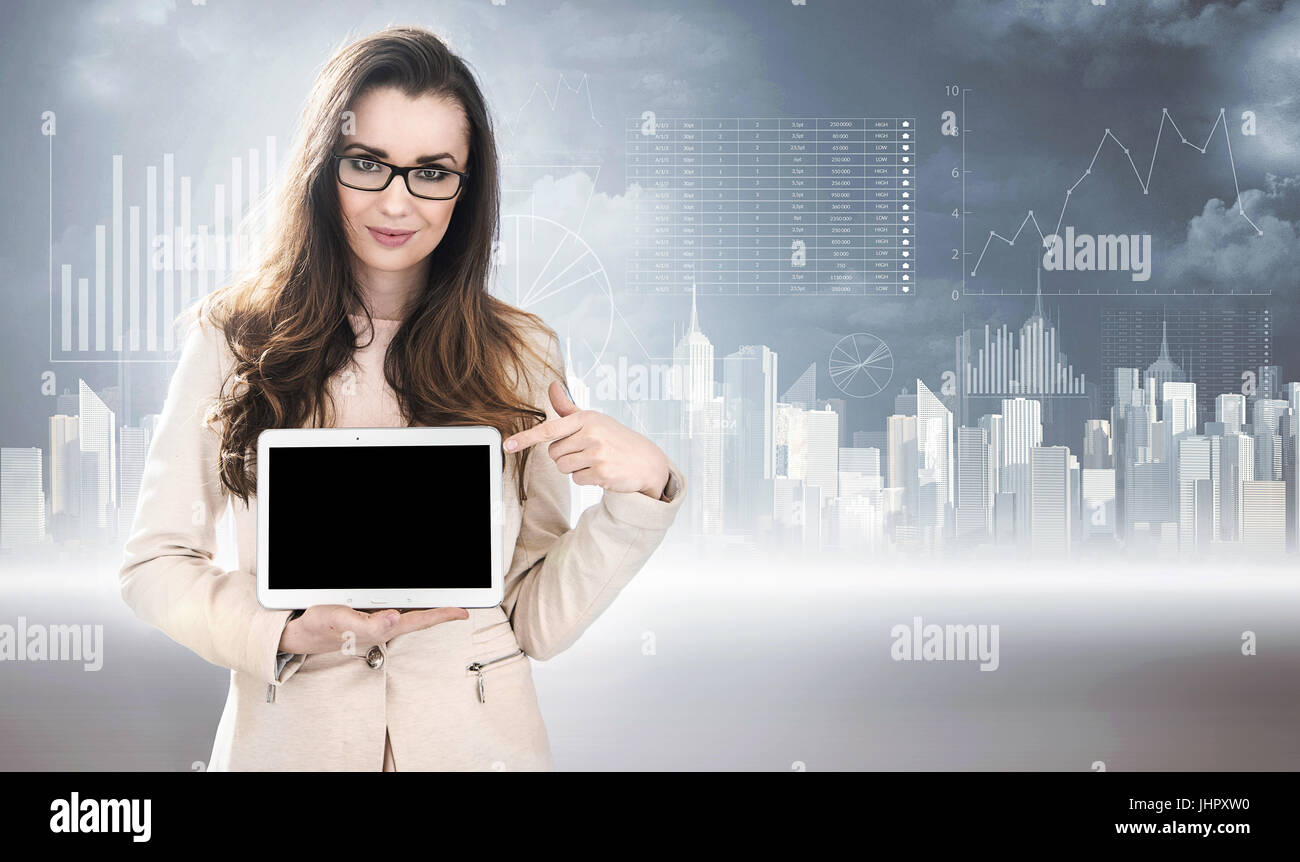 Browser Diagram Stock Photos Images Alamy Browserdiagram 2 Business Style Photo Of A Lady Holding Tablet Image
