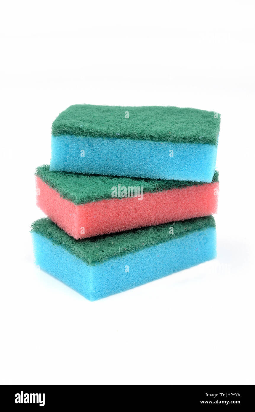 Kitchen Sponge Cut Out Stock Images & Pictures - Alamy