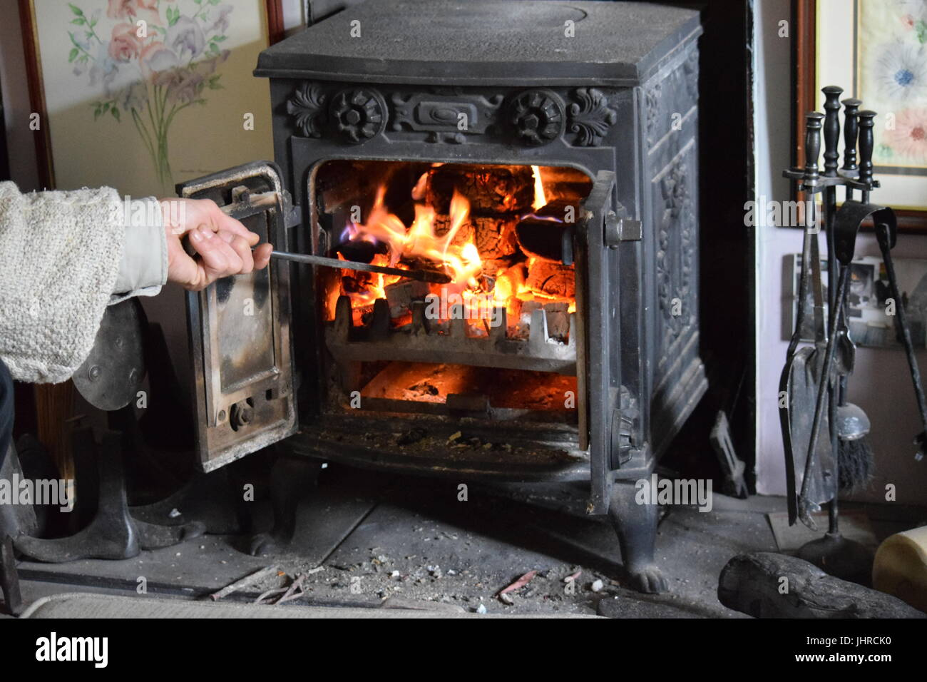 The stove - Stock Image