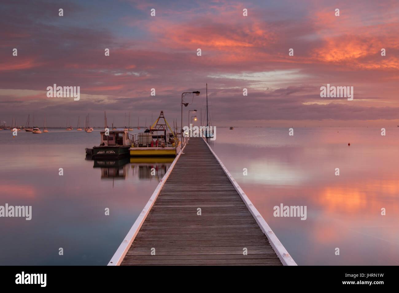 A.M. solitude - Stock Image