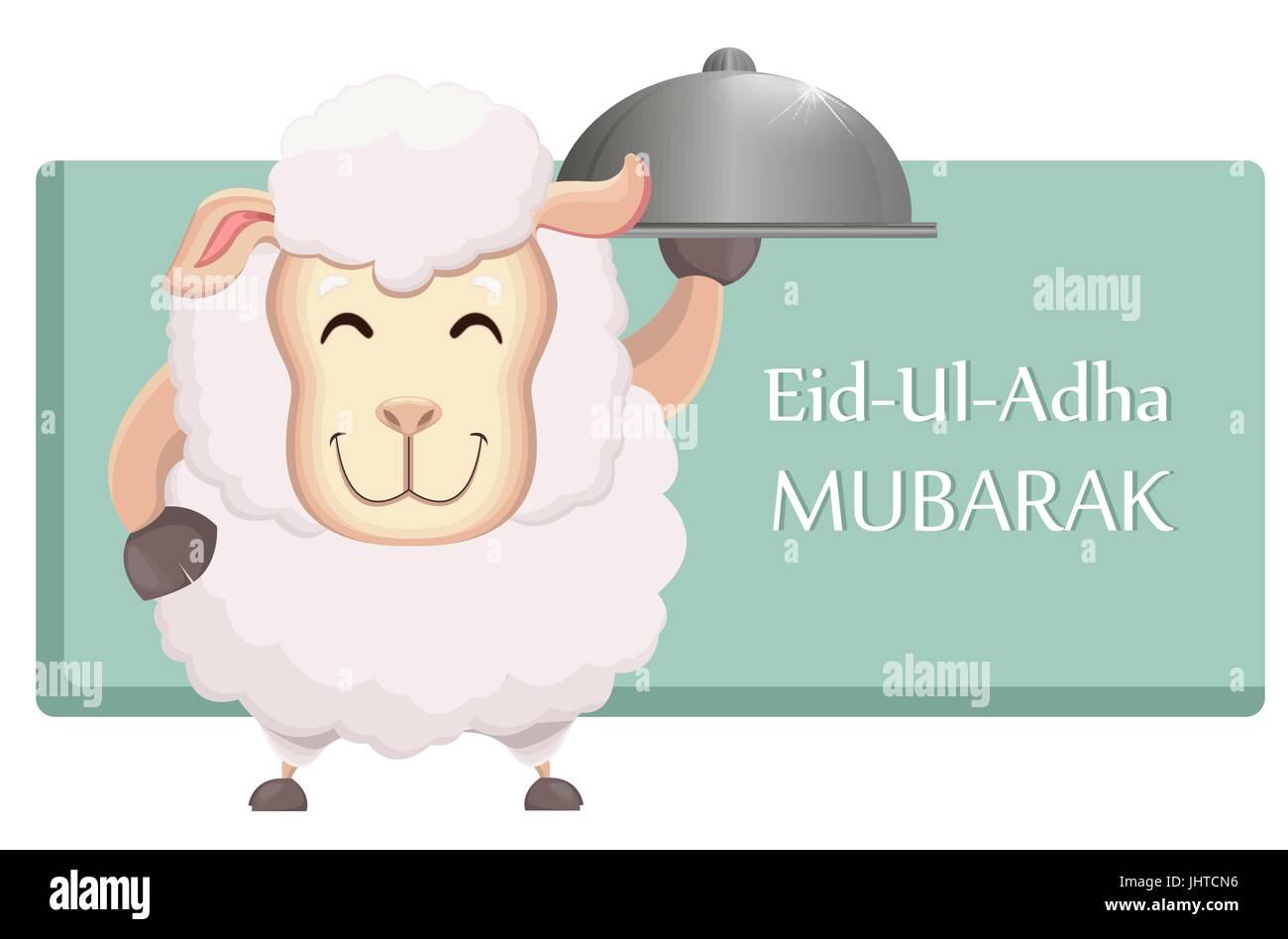 Festival Of Sacrifice Eid Ul Adha Traditional Muslin Holiday Stock