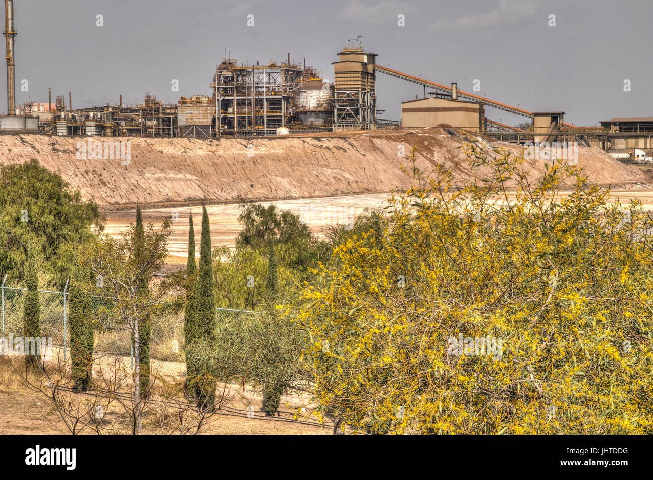 Zinc Mining - Stock Image