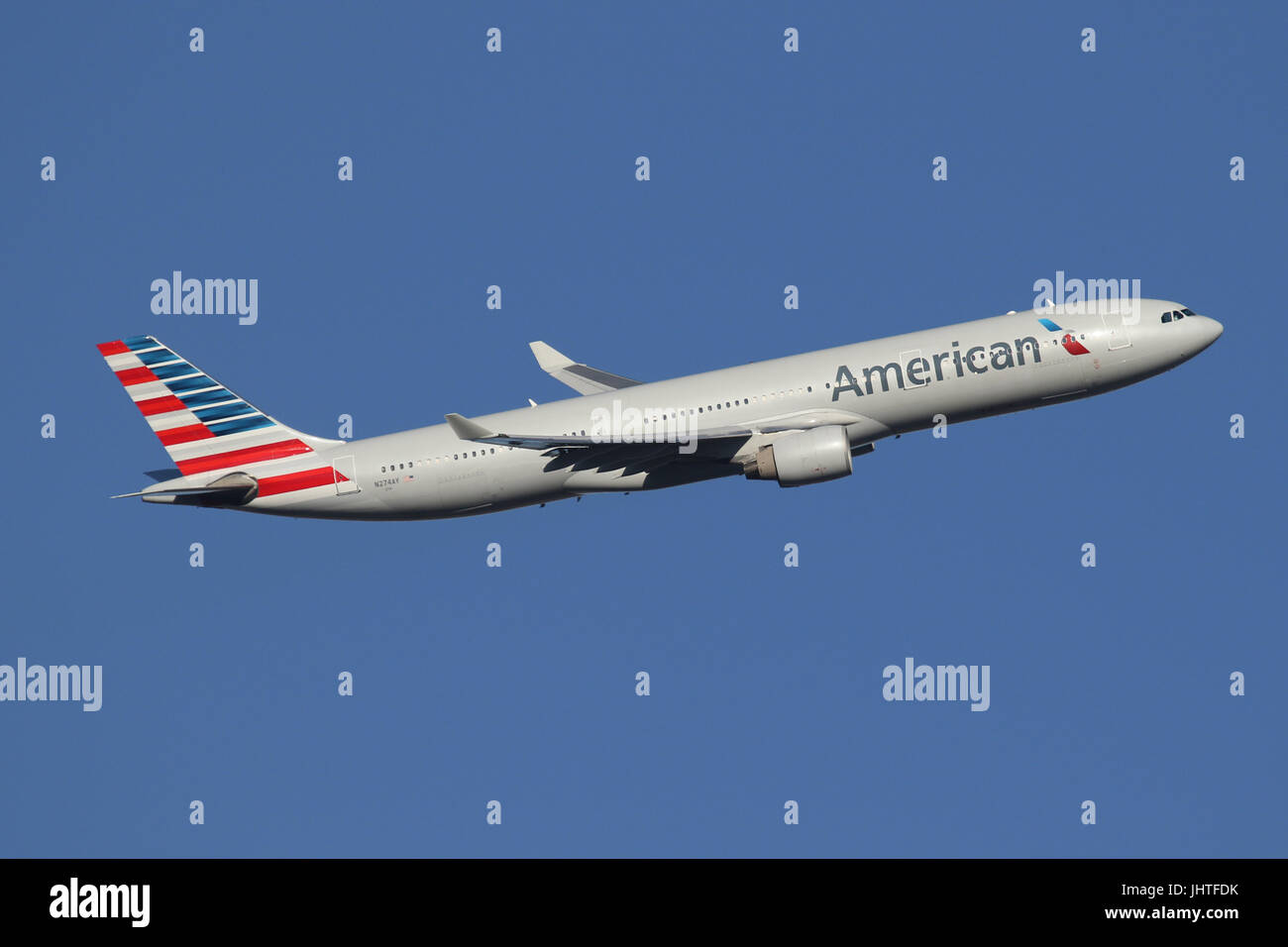 american a330 - Stock Image