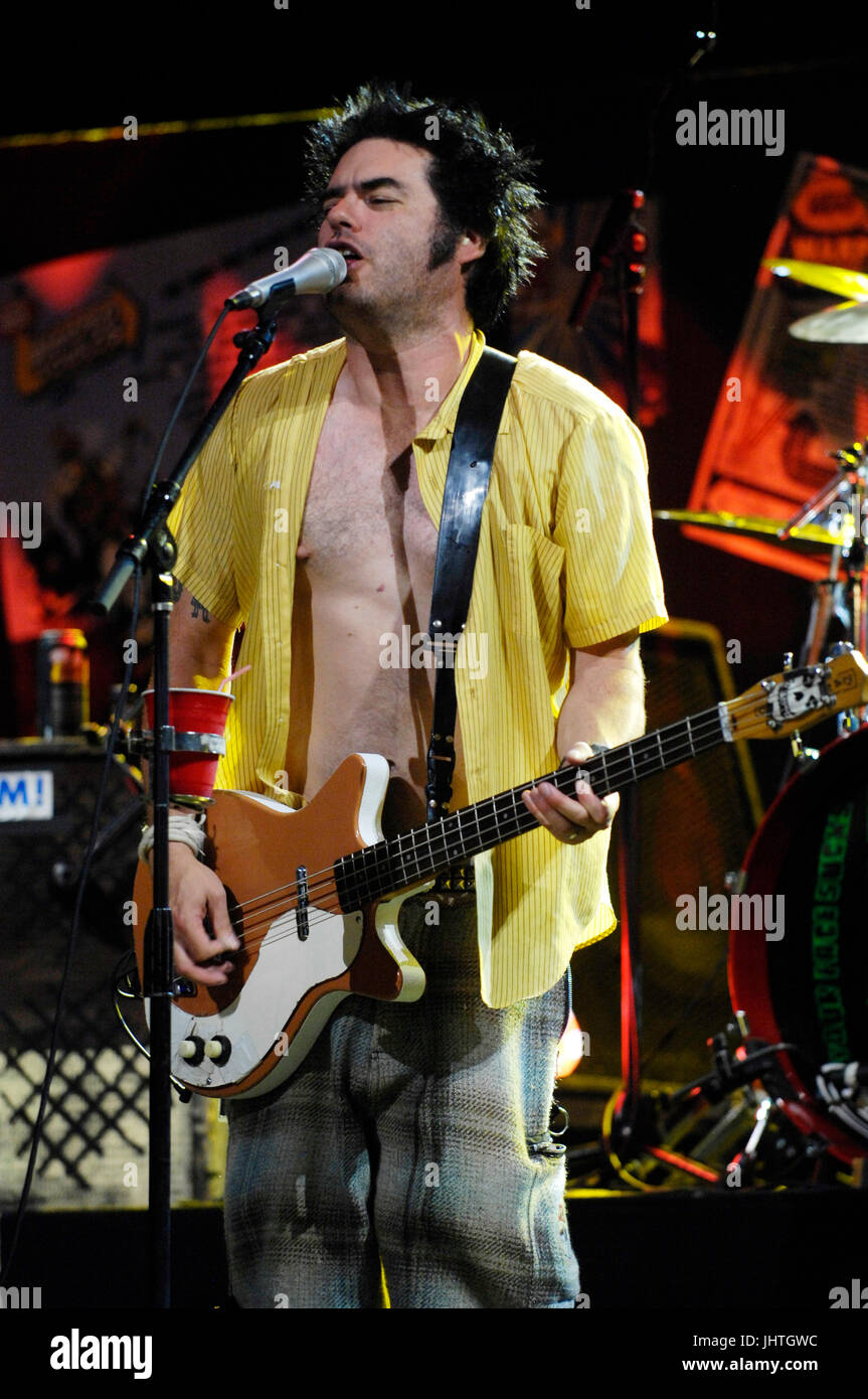 5f4890cac946be Fat Mike NOFX performs Vans Warped Tour 15th Anniversary Celebration Club  Nokia September 6