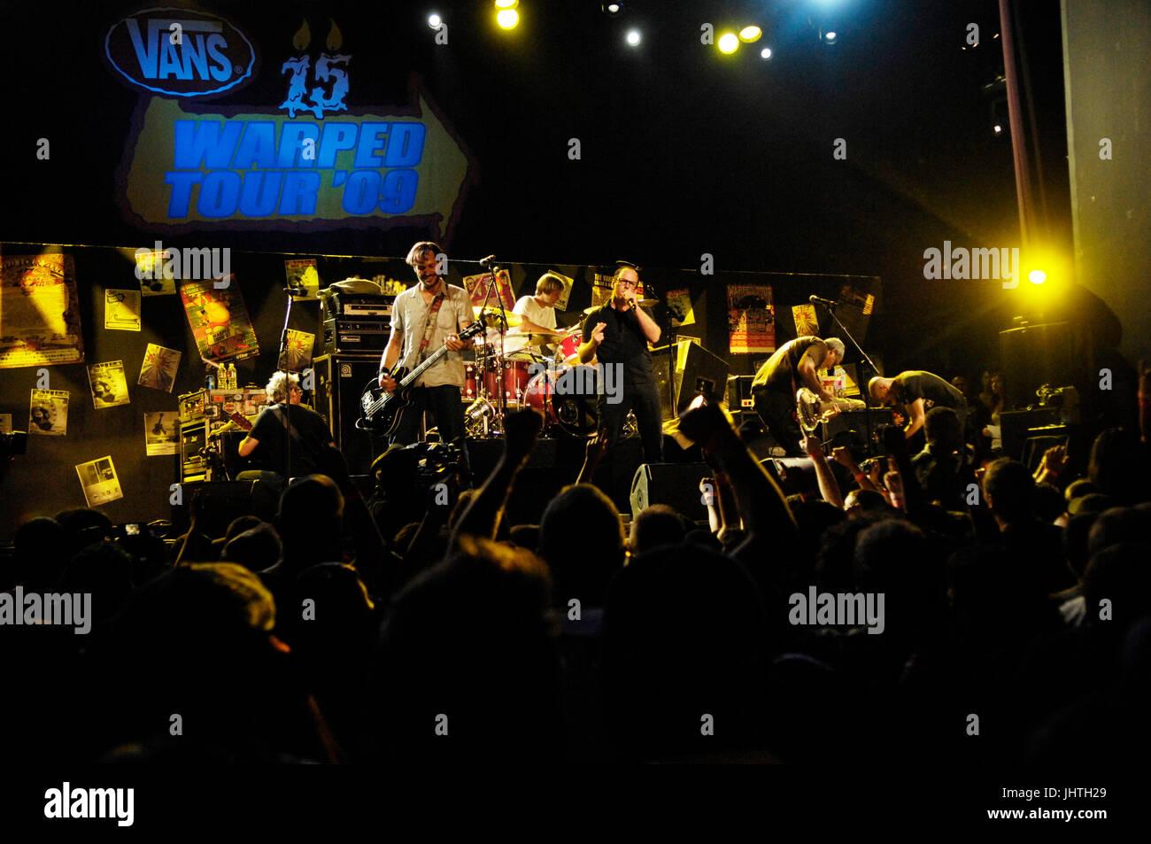 257b398a414cd7 Bad Religion perform Vans Warped Tour 15th Anniversary Celebration Club  Nokia September 6