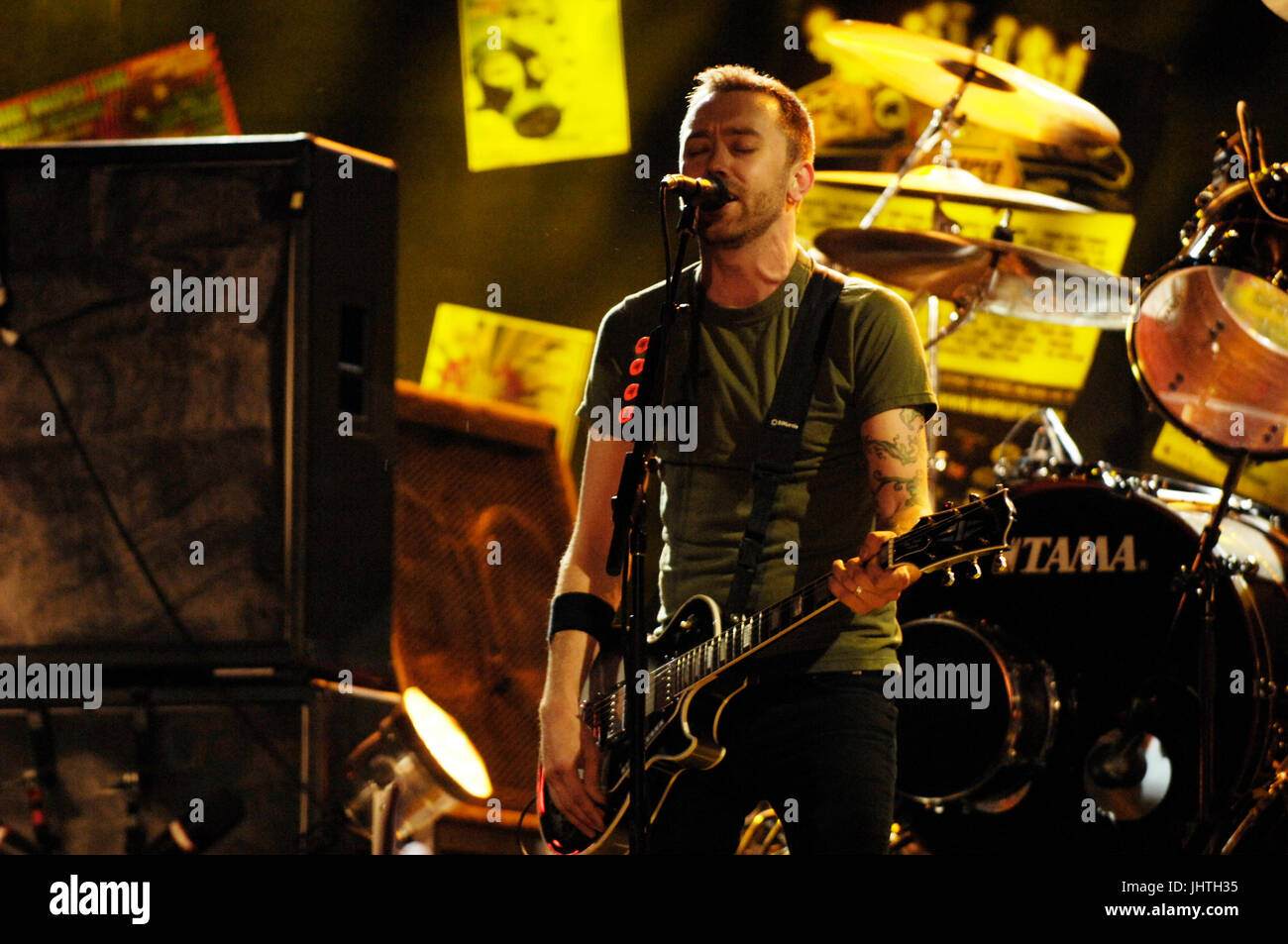 1594ede6e248be Tim McIlrath Rise Against performs Vans Warped Tour 15th Anniversary  Celebration Club Nokia September 6