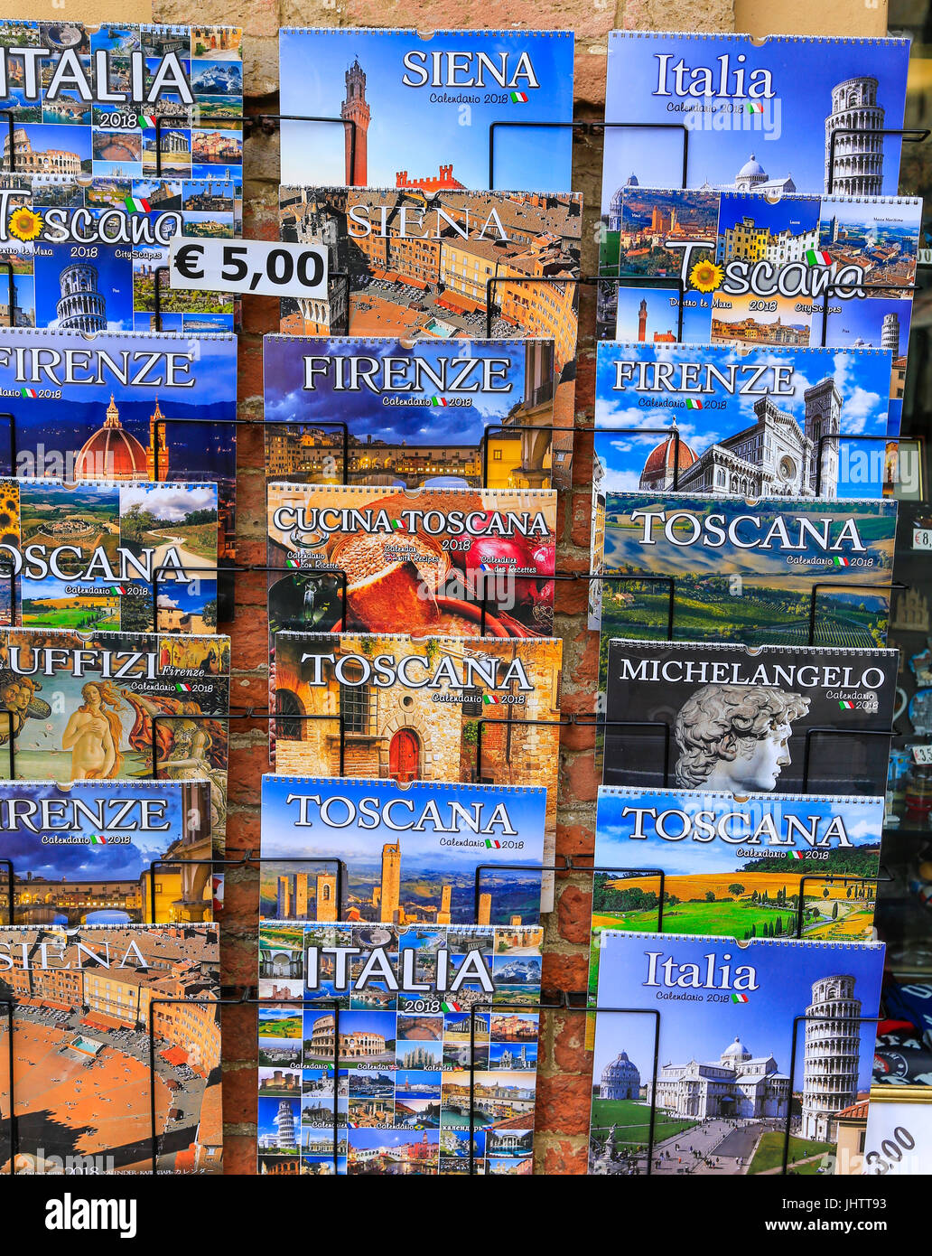 Tourist guides - Stock Image