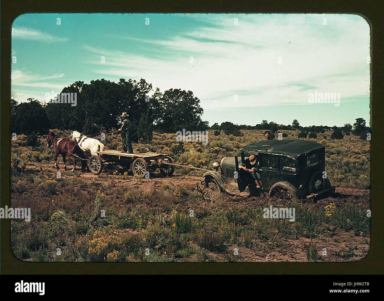 Historical landscape - Stock Image