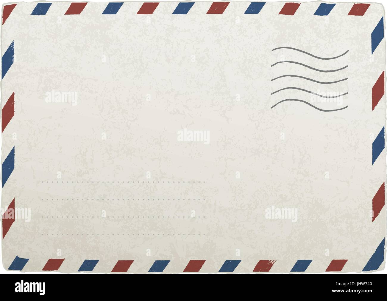 vintage mailing envelope vector template for your designs eps 10