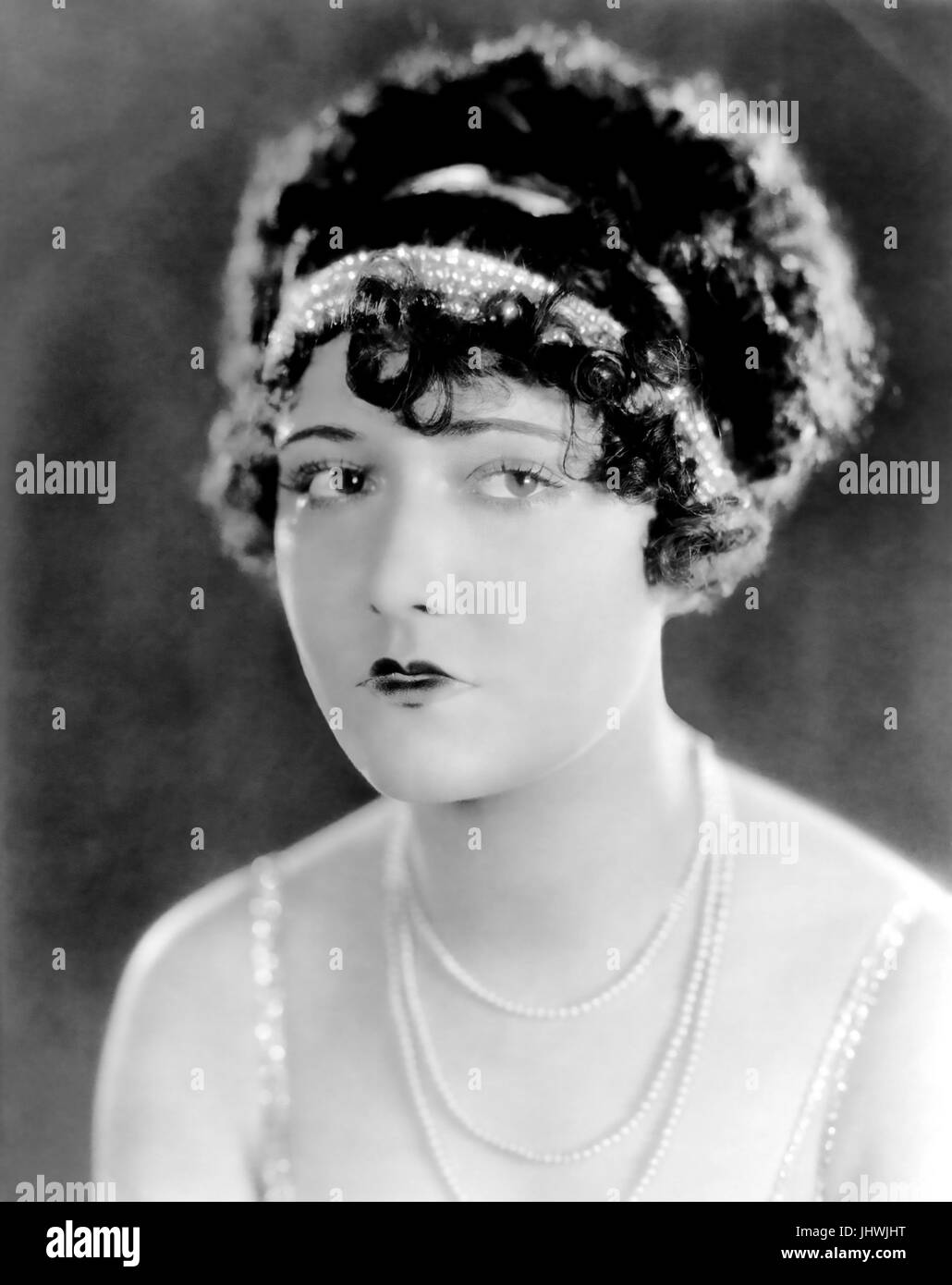DOROTHY SEBASTIAN (1903-1957) US film and stage actress about 1928 - Stock Image