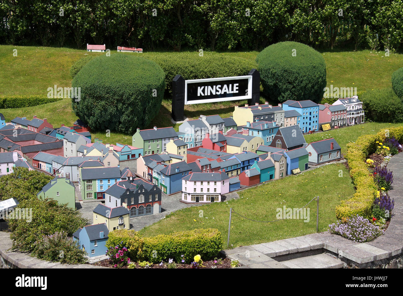 West Cork Model Railway Village at Clonakilty in Ireland - Stock Image