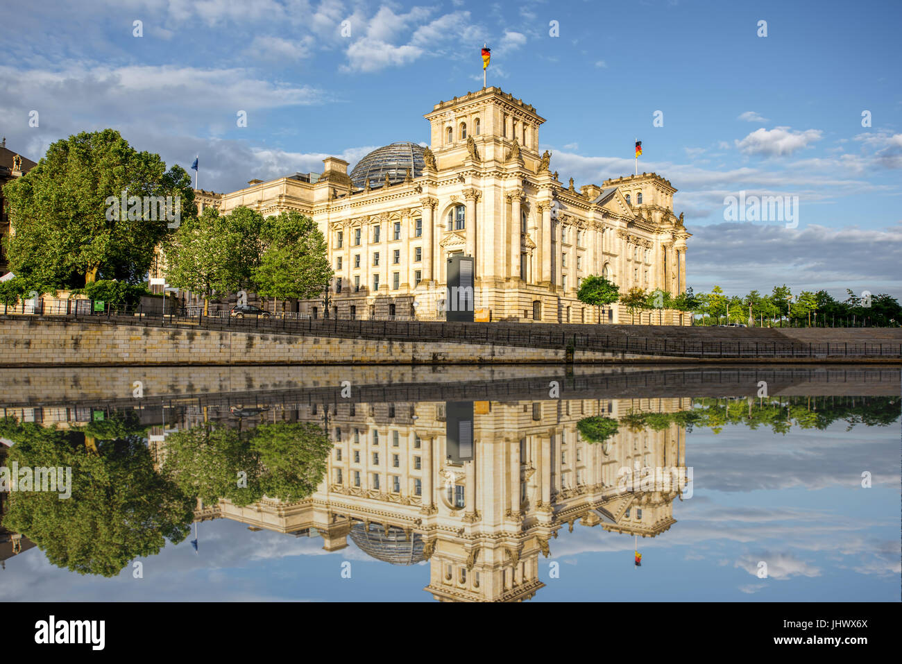 Berlin city view - Stock Image