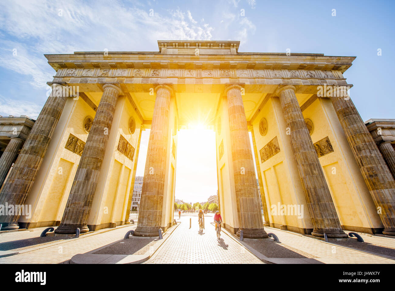 Brandenburg gates - Stock Image