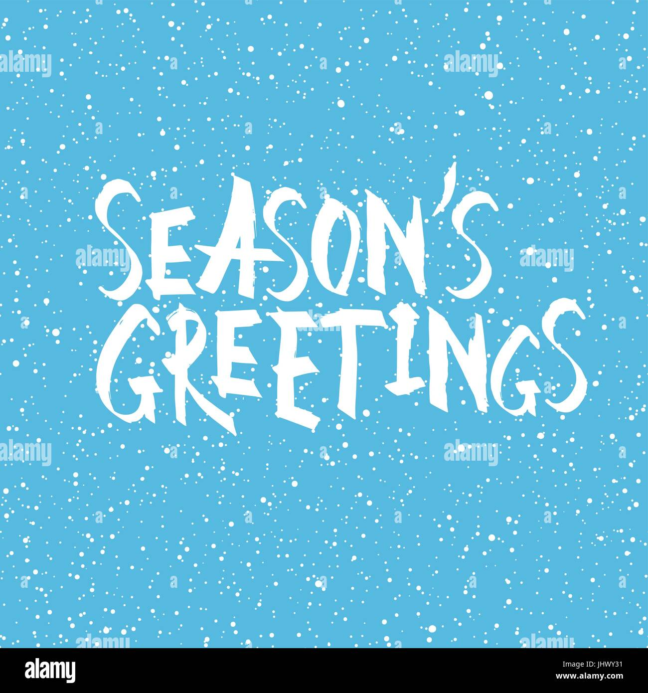 seasons greetings christmas and new year holiday phrase