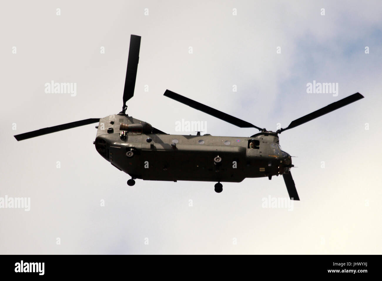 CH-47 Chinook,military helicopter - Stock Image