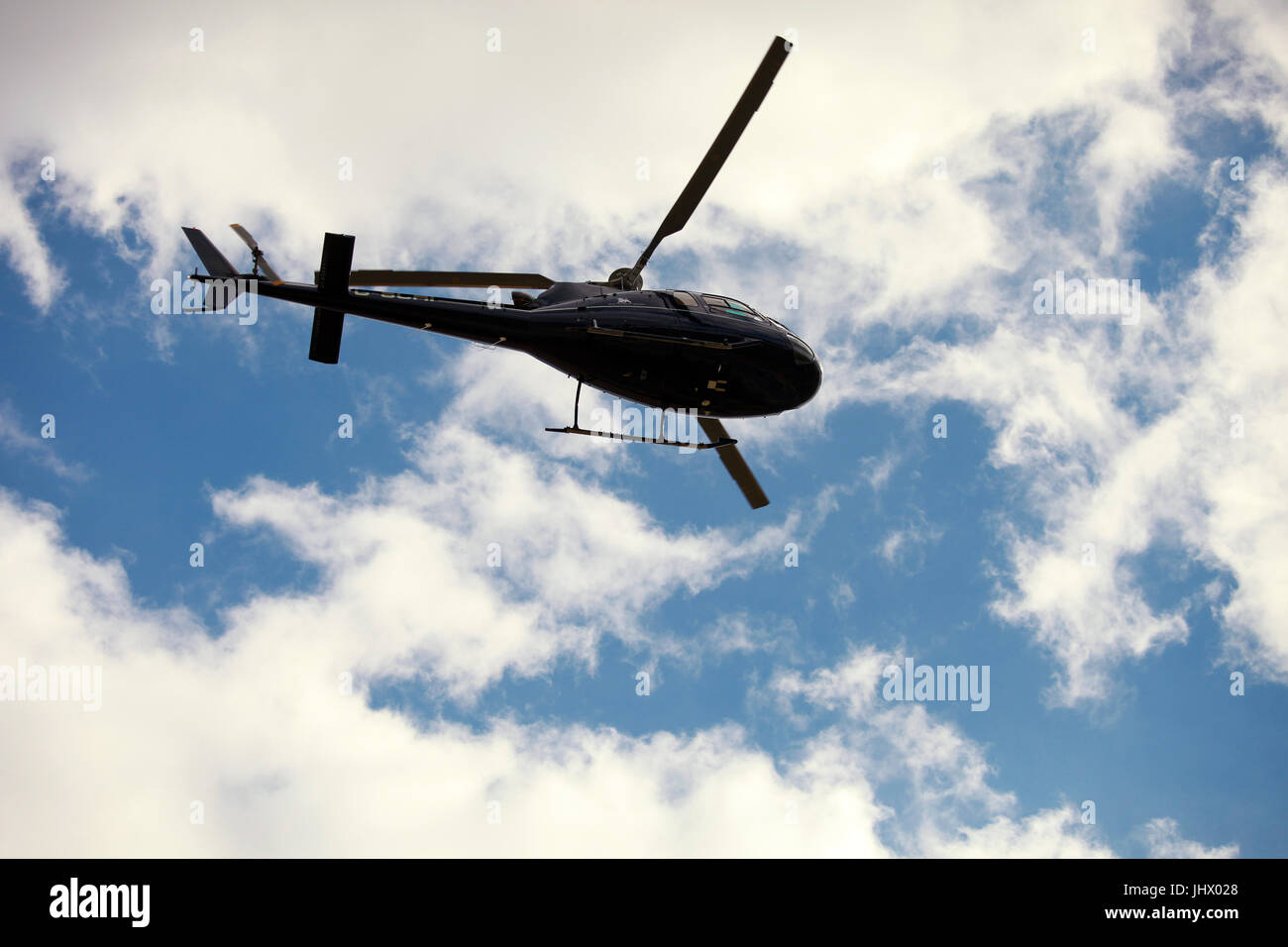military helicopter, air transport - Stock Image