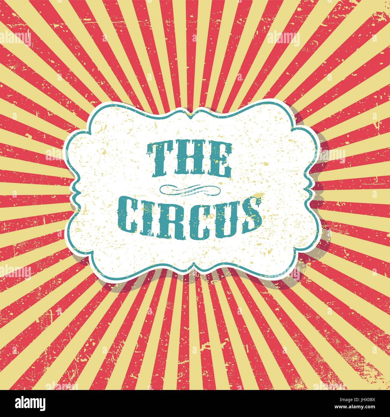 the circus grunge retro background vintage circus poster template