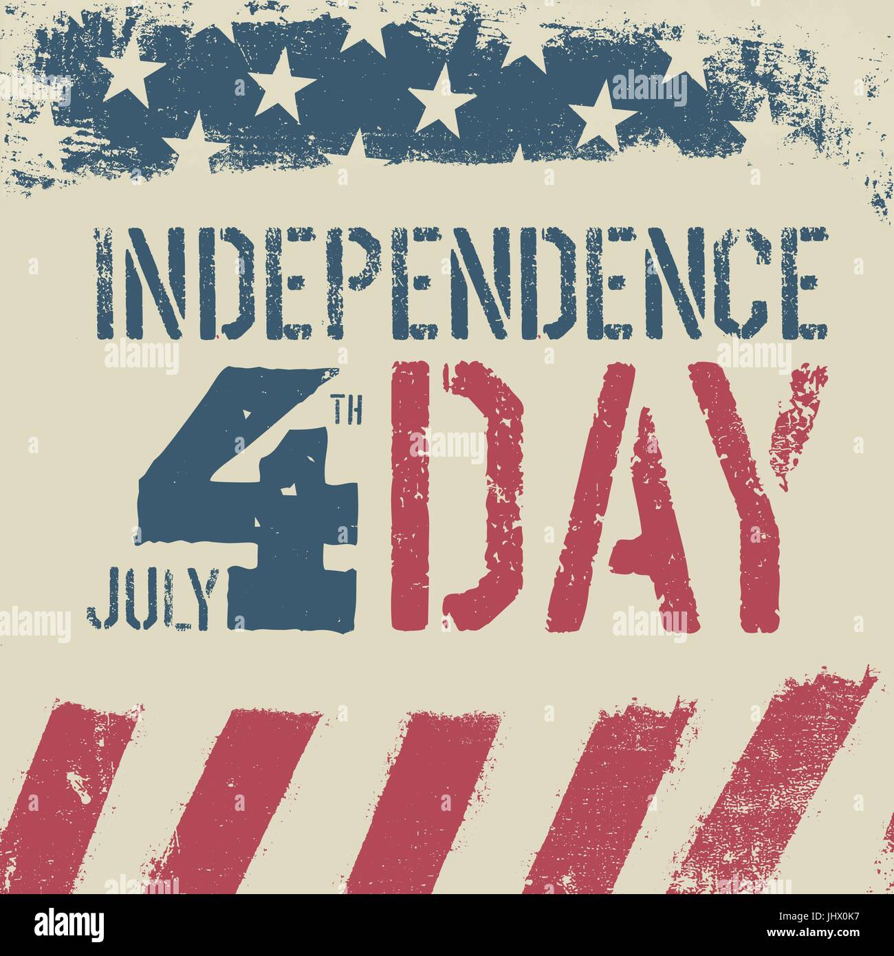 4th july independence day grunge american flag background
