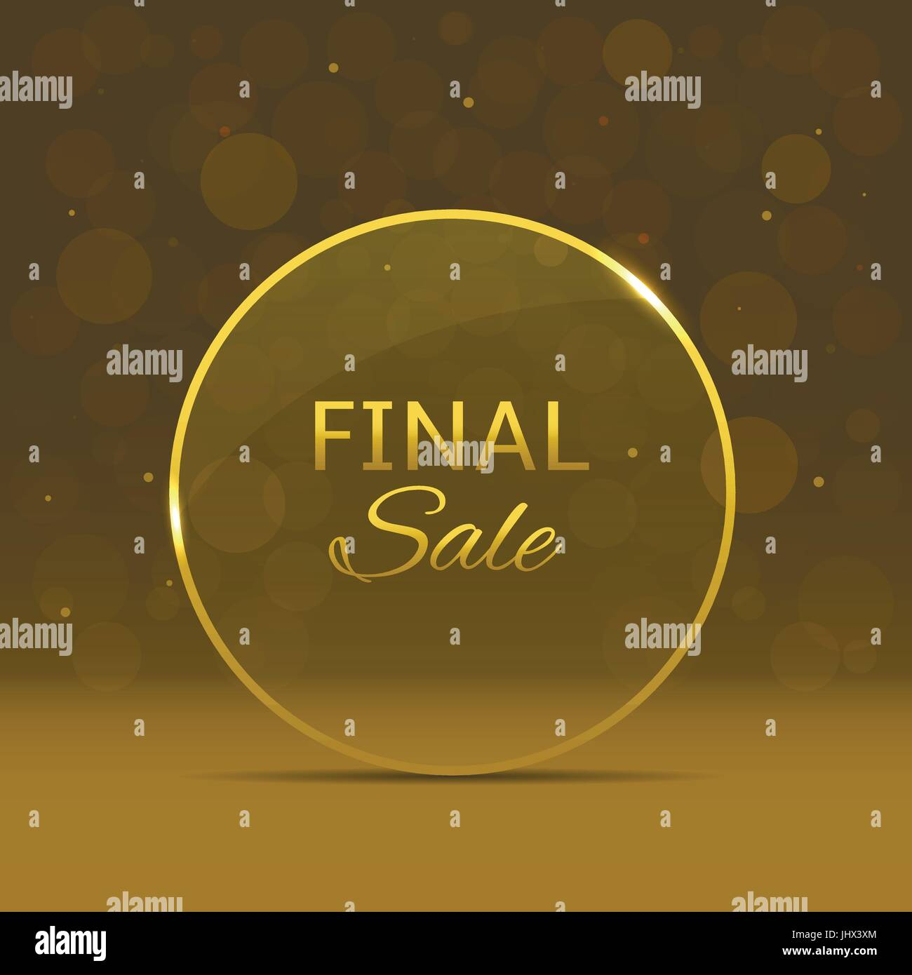 Final sale label - Stock Vector