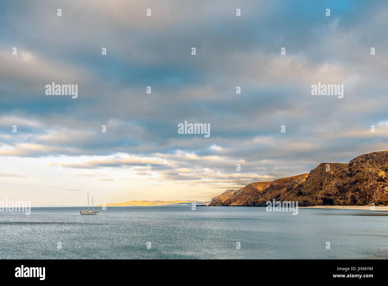 Rapid Bay minimal landscape, South Australia - Stock Image