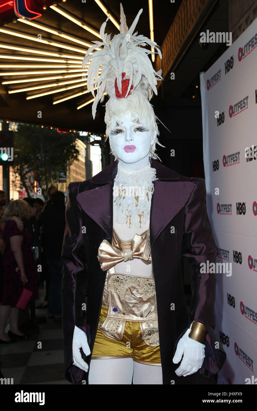 Los Angeles, California, USA. 16th July, 2017. Prince Poppycock, At 2017 Outfest Los Angeles LGBT Film Festival Stock Photo