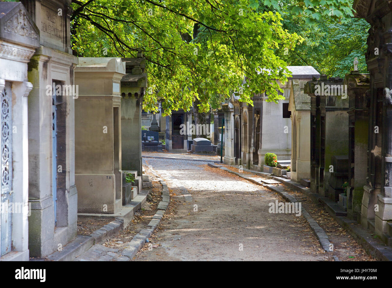 Cemetery Pere Lachaise, Paris, France - Cemetery Pere Lachaise, Paris, France, Friedhof Pere Lachaise, Frankreich - Cemetery Pere Lachaise Stock Photo
