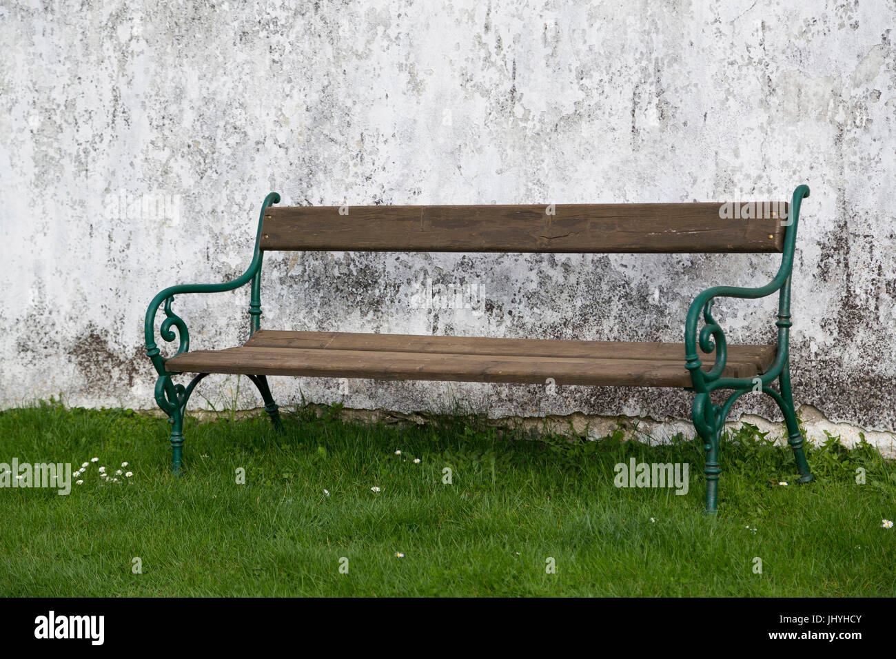 Old bench - Old bench, Alte Sitzbank - Old bench Stock Photo